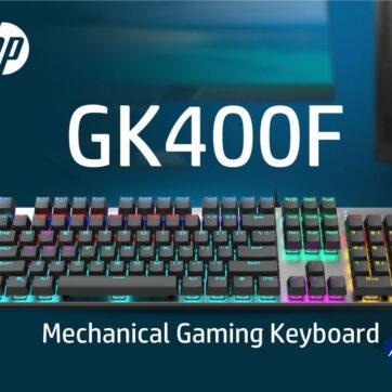 HP GK400F MECHANICAL GAMING KEYBOARD
