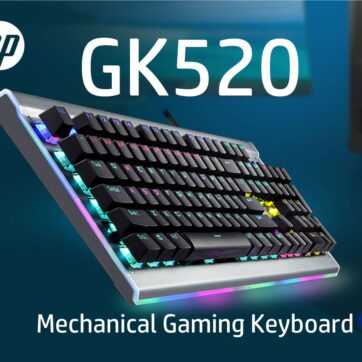 HP GK520 MECHANICAL GAMING KEYBOARD
