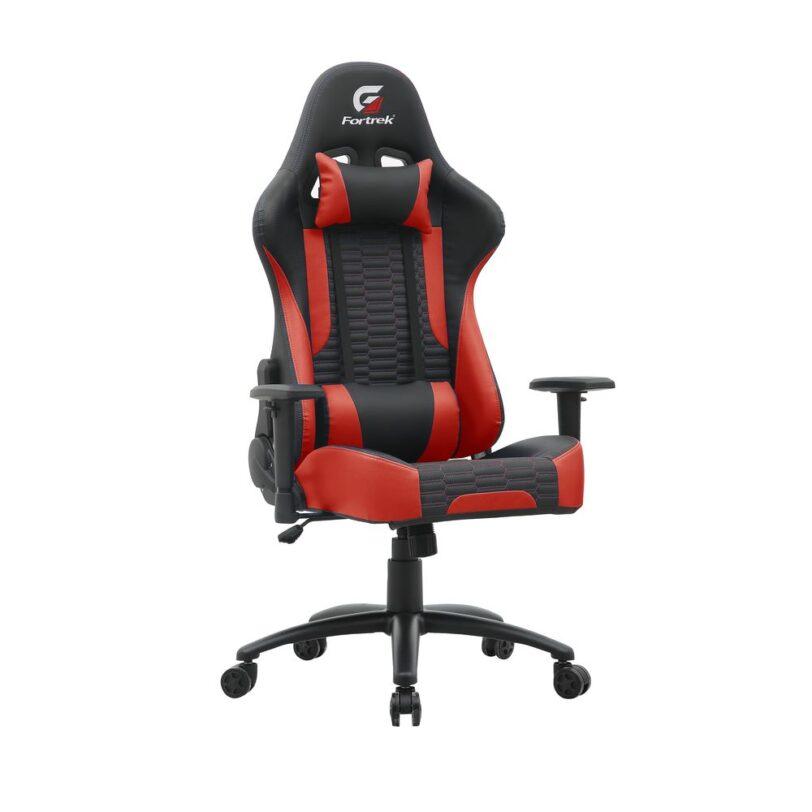 Fortrek Cruiser Adjustable Gaming Chair Red 01