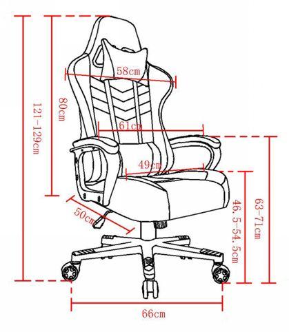 Fortrek Vickers Gaming Chair Detail 02