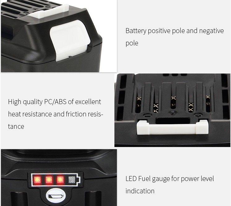 Makita 12V 4Ah Battery Detail 03