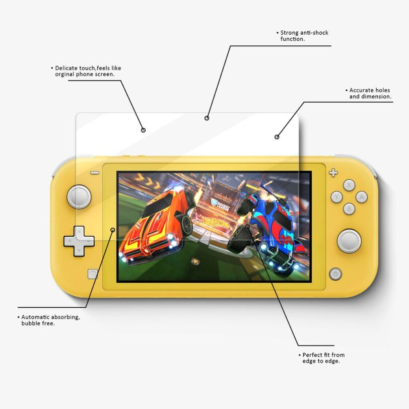 Vmax Nintendo Switch Lite Screen Protector 09