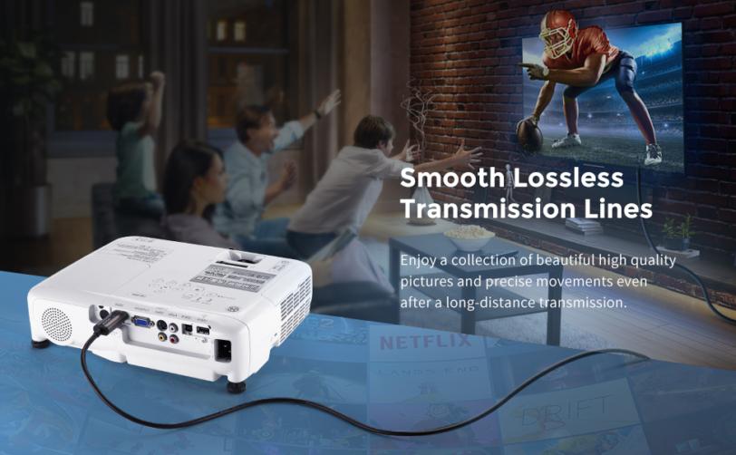 Fortrek HDMI Optic Fiber cable
