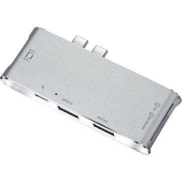 YC 204B 6 in 1 Type C MacBook Adapter 05