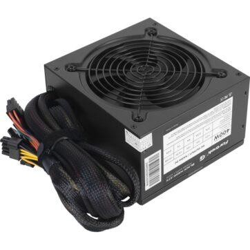 Fortrek BlackHawk White 400W Computer Power Supply PSU 01