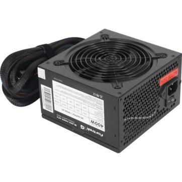 Fortrek BlackHawk White 400W Computer Power Supply PSU 02