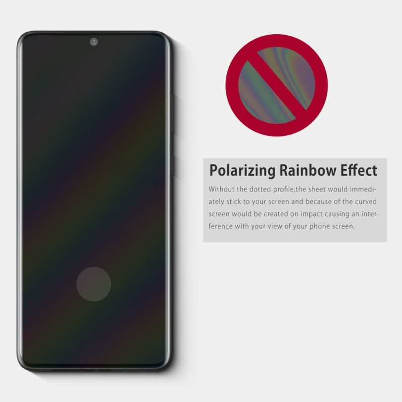 Vmax Samsung S20 Screen Protector Detail 05