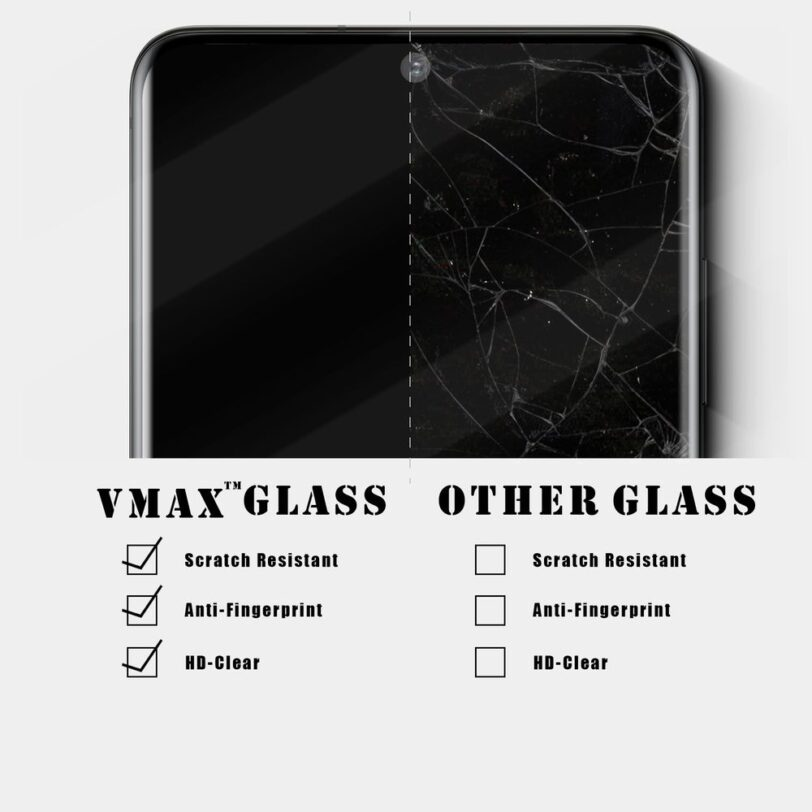 Vmax Samsung S20 Screen Protector Detail 06