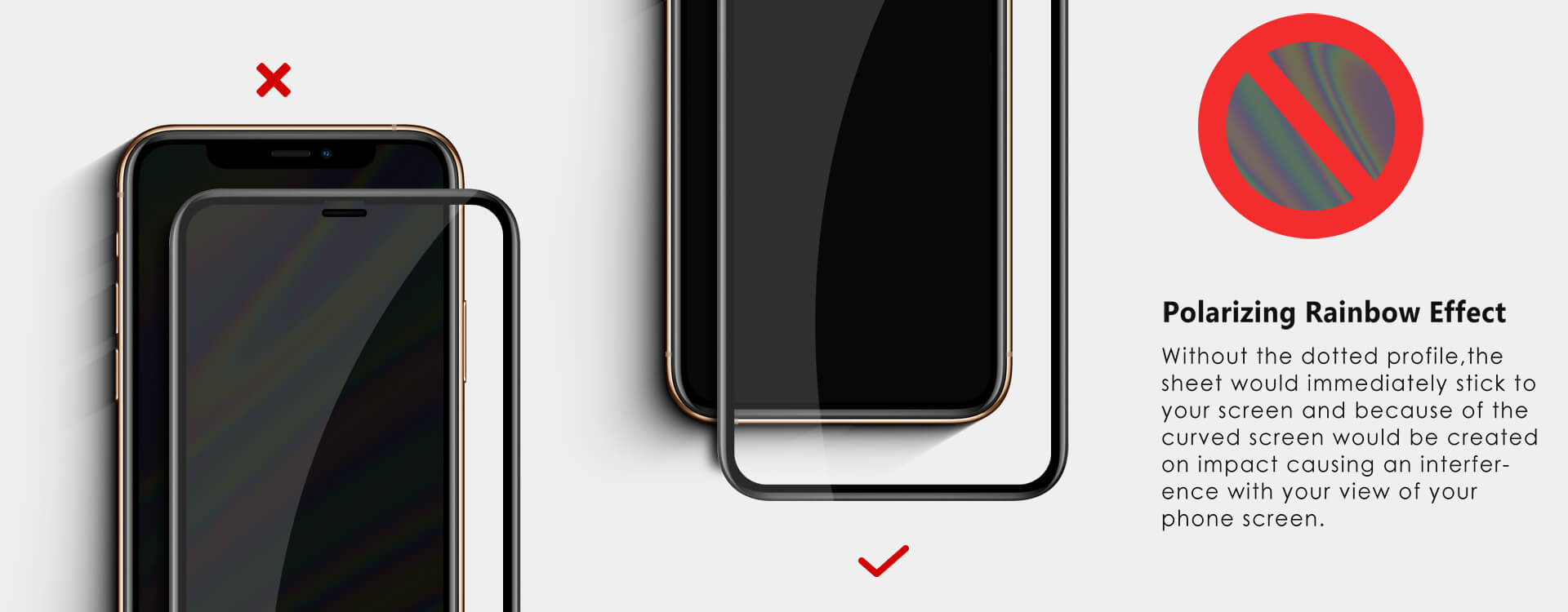 Vmax iPhoneX Screen Protector Detail 03