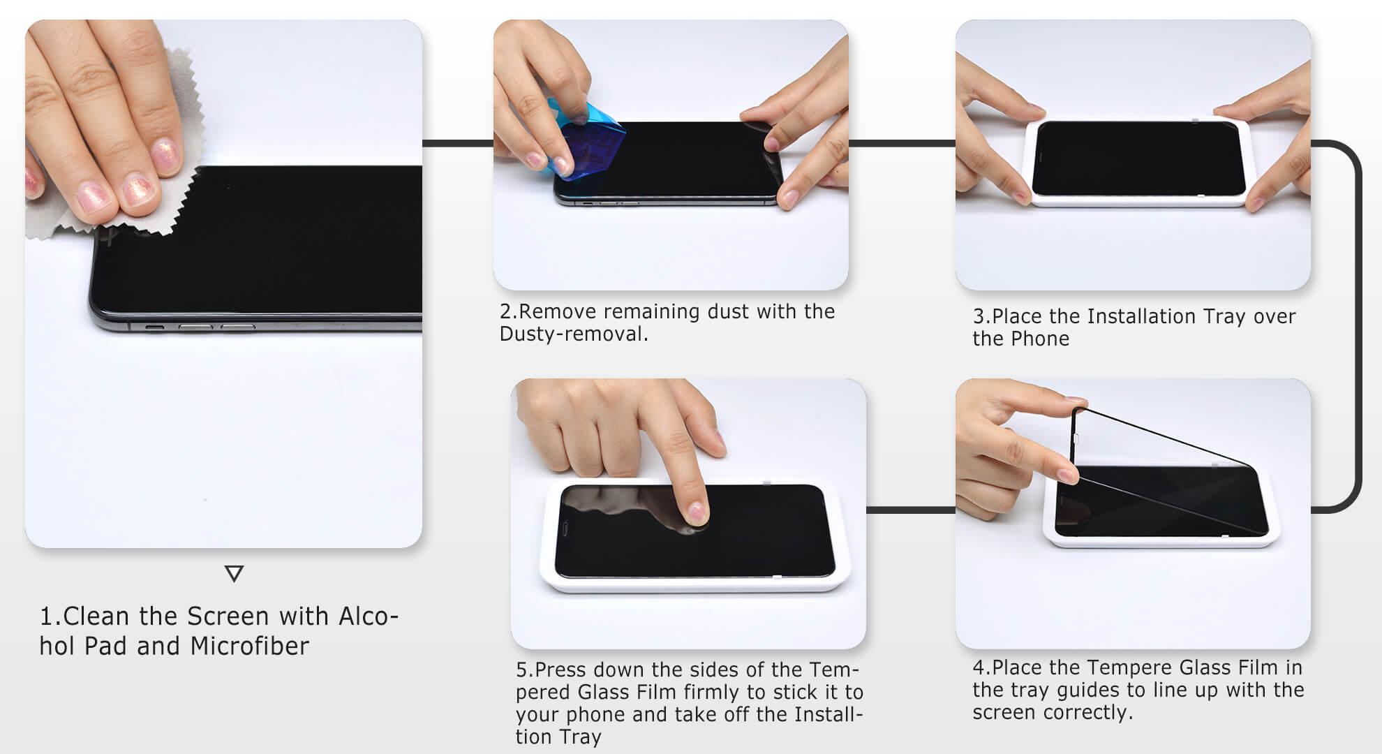 Vmax iPhoneX Screen Protector Detail 05
