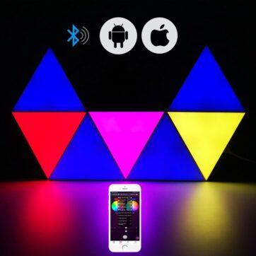 Triangle Wall LED Light 01